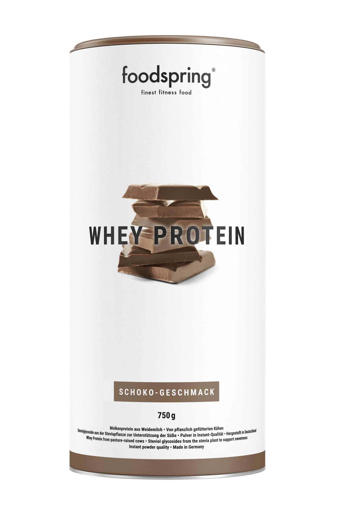 """WHEY PROTEIN - """"Weideprotein für stärkere Muskeln"""" - Mit kostenlosem Shaker"""