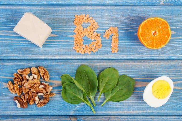Vitamina B1 con alimentos