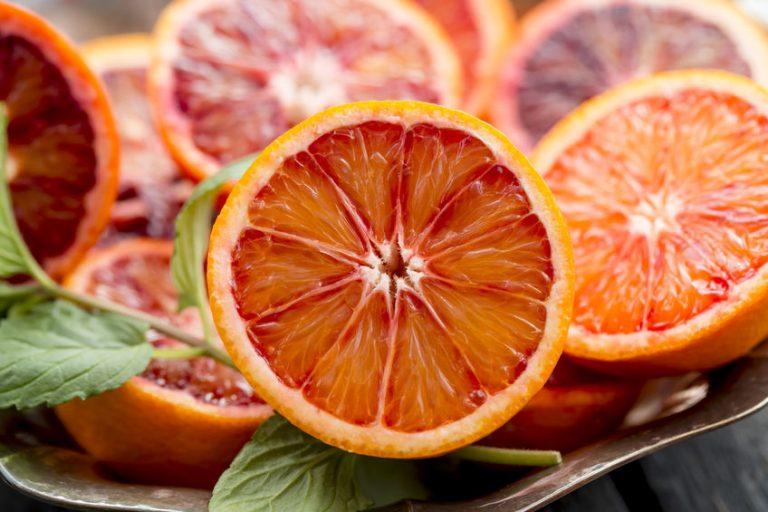 Imagen en rodajas de naranja