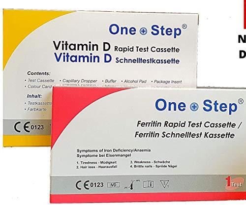Vitamin D und Ferritin Bluttests (Test auf Eisen- und Vitamin D-Mangel)