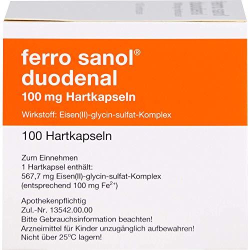 FERRO SANOL duodenal Hartkaps.m.msr.überz.Pell. 100 St